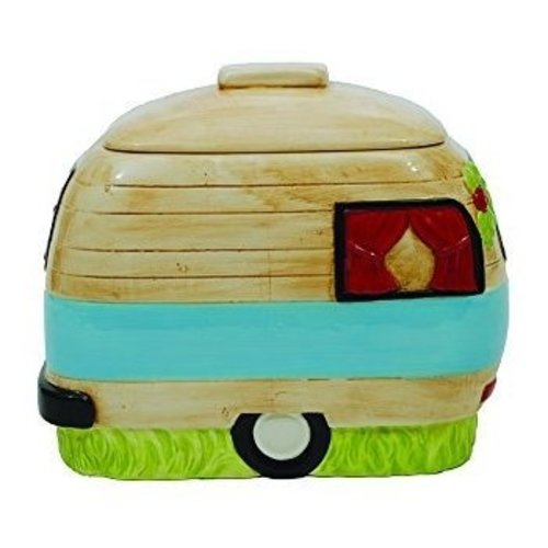 Happy Camper Cookie Jar