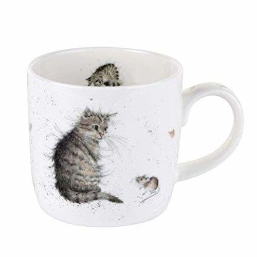 Wrendale Wrendale Cat & Mouse Mug 11oz
