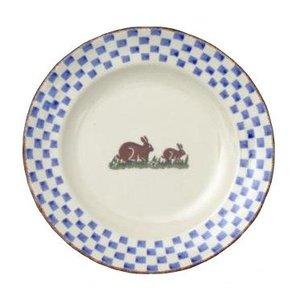 Brixton Pottery Brixton Rabbits Dessert Plate