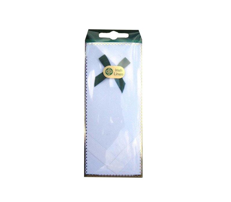 McCaw Allan Irish Linen Handkerchief - Style 1