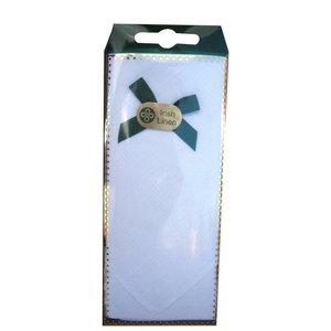 Square Linen Handkerchief - Style 3
