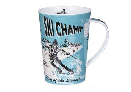 Dunoon Argyll Sports Stars Mug - Ski