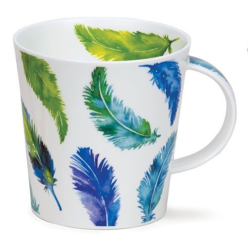 Dunoon Dunoon Cairngorm Tickle! Turquoise Mug