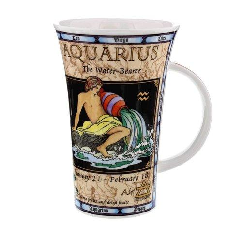 Dunoon Glencoe Zodiac Mug - Aquarius