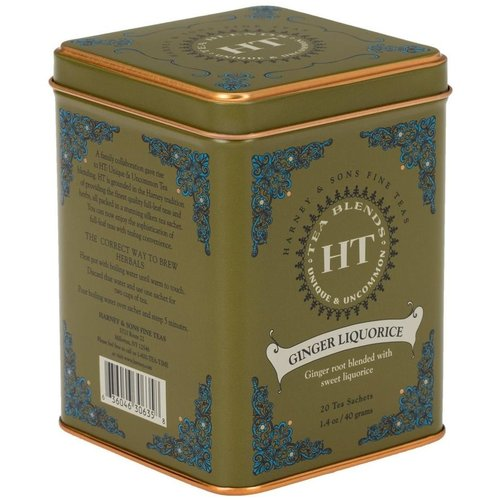 Harney & Sons Harney & Sons Ginger Licorice 20s Tin