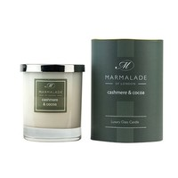 Cashmere and Cocoa Glass Candle