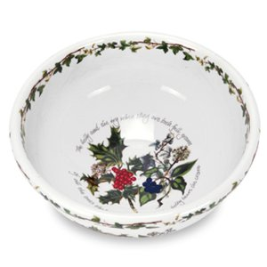 Portmeirion Holly & Ivy Salad Bowl