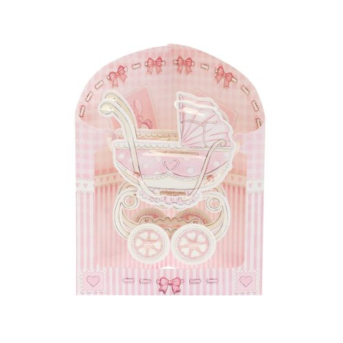 Santoro London Swing Cards Baby Carriage