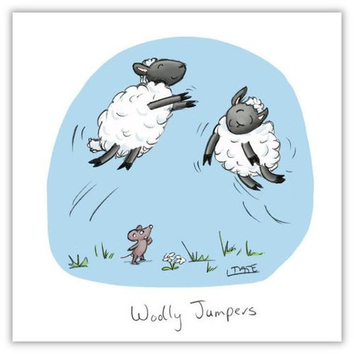 Woolly Jumpers Greeting Card