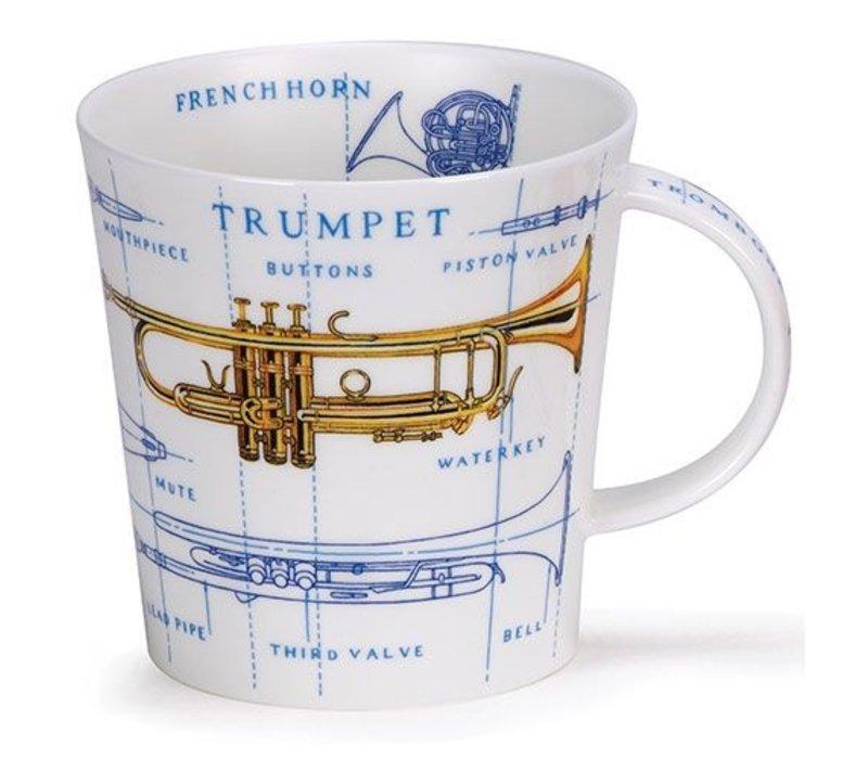 Cairngorm Music Icons Mug - Brass
