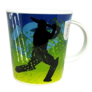Dunoon Lomond Power Play - Cricket Mug