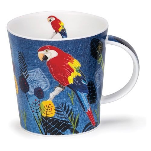 Dunoon Dunoon Lomond Flights of Fancy Mug - Macaw