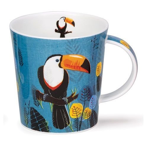 Dunoon Dunoon Lomond Flights of Fancy Mug - Toucan