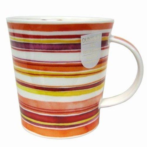 Dunoon Lomond Stripes Mug - Sunset Glow