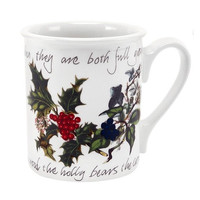 Holly & Ivy Breakfast Mug