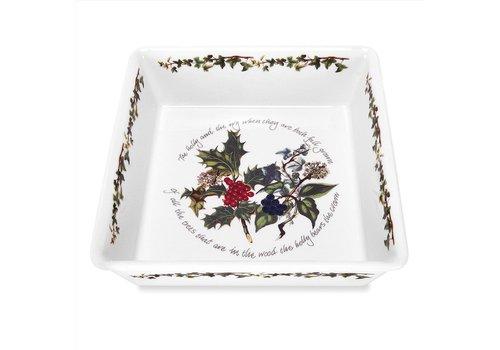Portmeirion Holly & Ivy Deep Square Dish