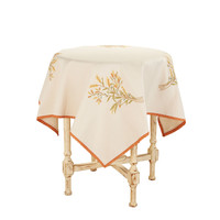 Golden Fields Square Tablecloth