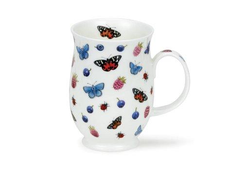 Dunoon Suffolk Evesham-Raspberry Mug