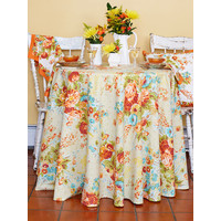 Marion Harvest Round Table Cloth