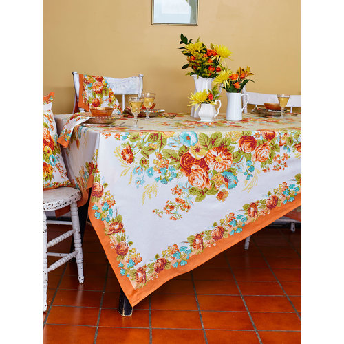 April Cornell Marion Harvest Rectangular Tablecloth
