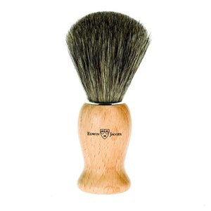 Edwin Jagger Edwin Jagger Pure Badger Shaving Brush with Beech Wood Handle