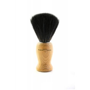 Edwin Jagger Edwin Jagger Synthetic Fibre Shaving Brush with Beech Wood Handle