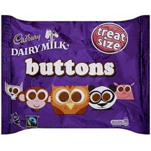 Cadbury Cadbury Dairy Milk Buttons Treat Size Bag