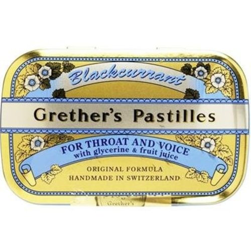 Grethers Blackcurrant Pastilles