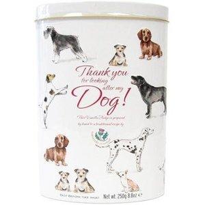 Gardiners of Scotland Gardiners Thank You Vanilla Fudge Tin - Dog