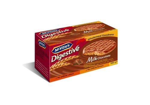 McVitie's McVities Digestives Milk Chocolate 200g