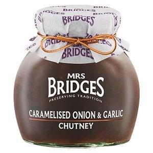 Mrs. Bridges Mrs. Bridges Caramelised Onion& Garlic Chutney 3.5oz