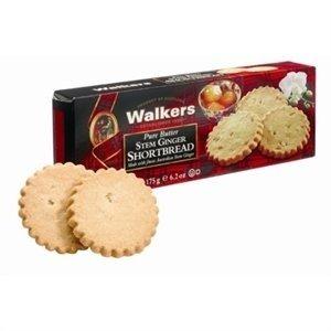 Walker's Shortbread Co. Walkers Pure Butter Stem Ginger Shortbread