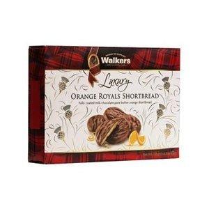 Walker's Shortbread Co. Walkers Milk Chocolate Orange Royals Shortbread