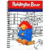 Paddington Bear Traditional Cut Out Notebook