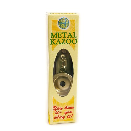 House of Marbles Metal Kazoo