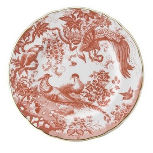 Royal Crown Derby Red Aves 8 in. Plate