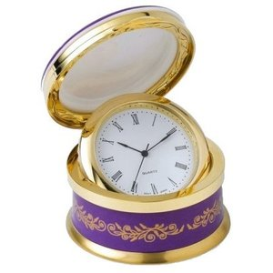 Hudson & Middleton Hudson Middleton Queen's 90th Birthday Hinged Clock Box