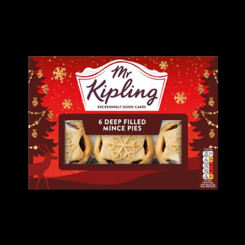 Mr. Kipling Mr Kipling Mince Pies 6 pack