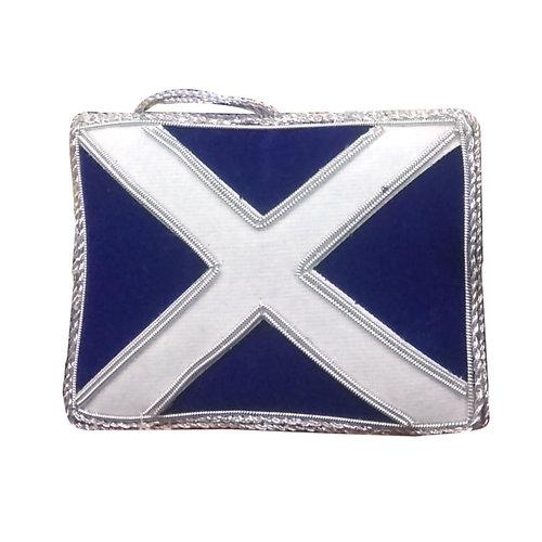 St. Nicolas St. Nicolas Scottish Flag Ornament