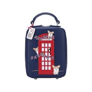 Vendula London Corgis London Bus Crossbody Bag