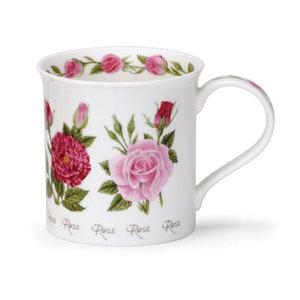 Dunoon Dunoon Bute Summer Flowers Mug - Rose