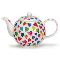 Warm Hearts Large Teapot