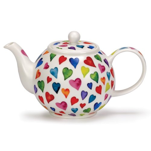 Dunoon Dunoon Warm Hearts Large Teapot