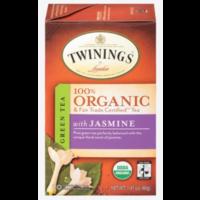Twinings Organic Green Tea with Jasmine 20s