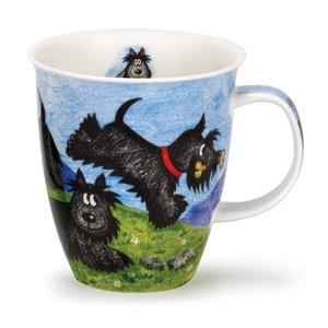 Dunoon Nevis Highland Animals Scottie Mug