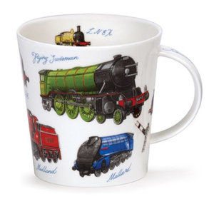 Dunoon Cairngorm Classic Collection Trains Mug