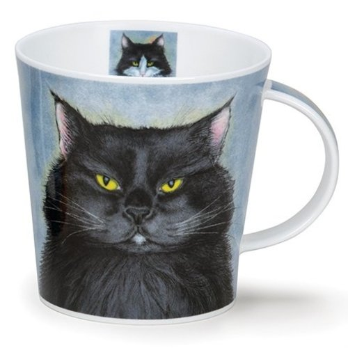 Dunoon Cairngorm Rogues Gallery Black Mug