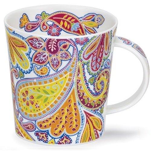 Dunoon Dunoon Lomond Blue Paisley Mug