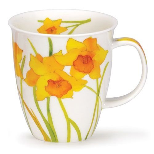 Dunoon Nevis Flora Daffodil Mug