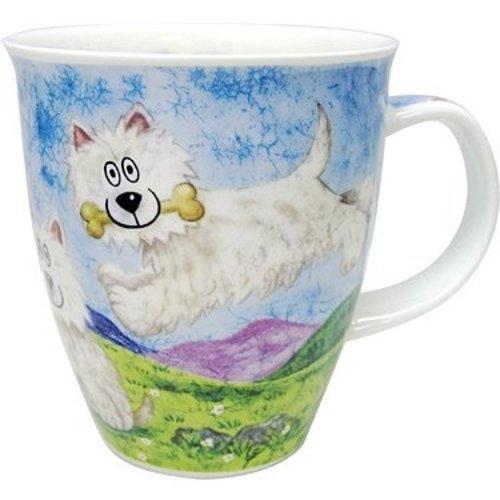 Dunoon Nevis Highland Animals Westie Mug